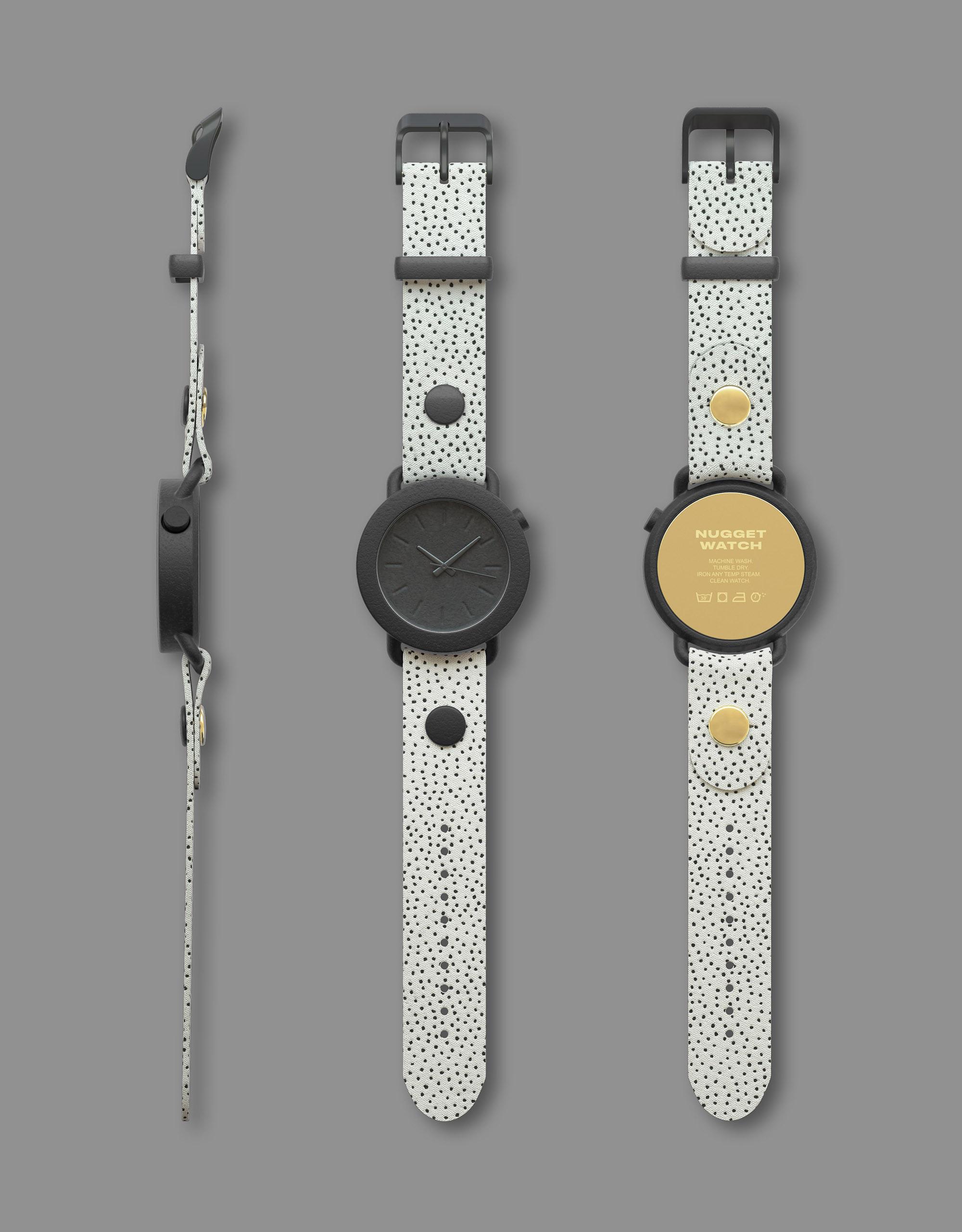 Andreas Bhend Industrial Design Studio NUGGET WATCH 15