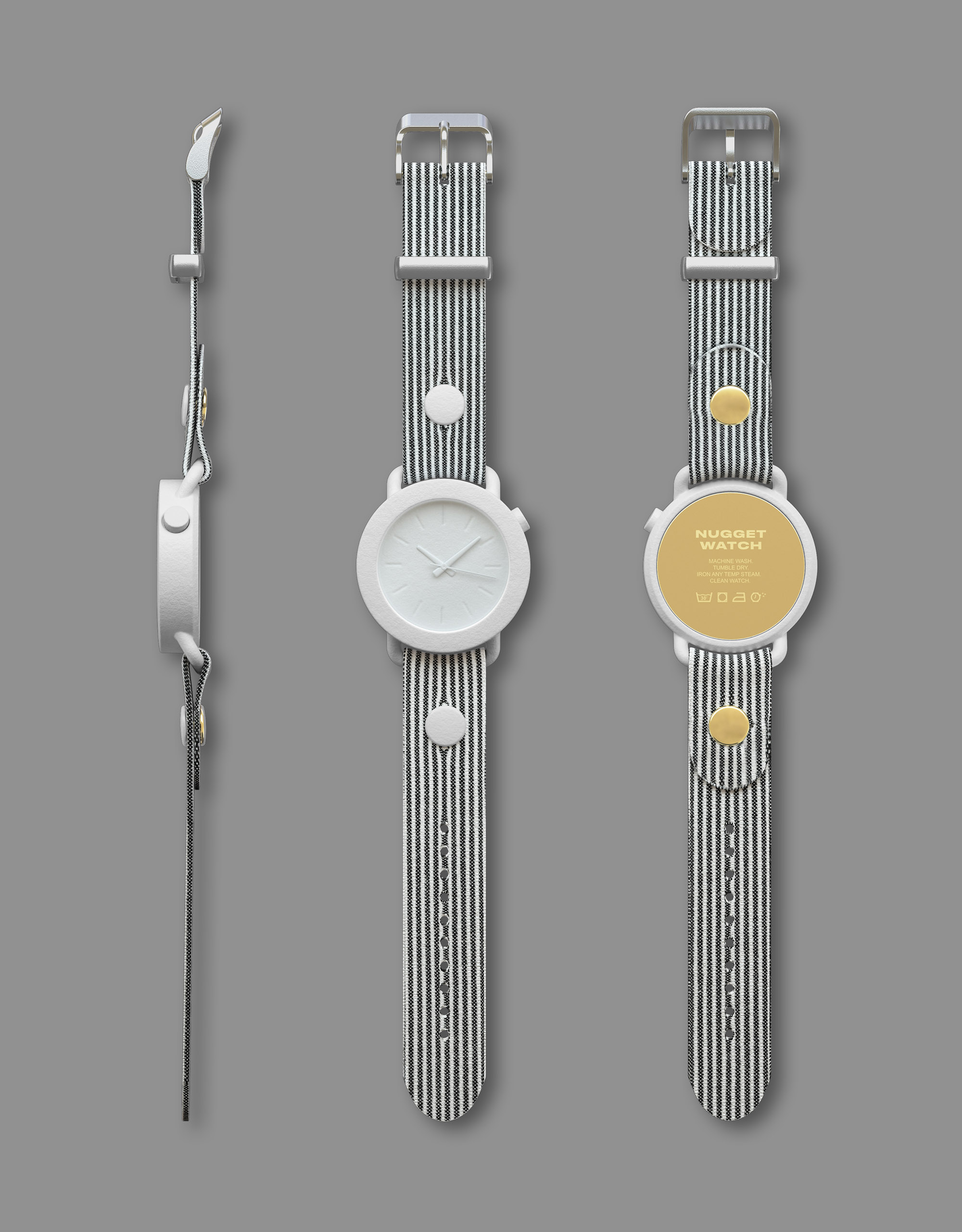 Andreas Bhend Industrial Design Studio NUGGET WATCH 16