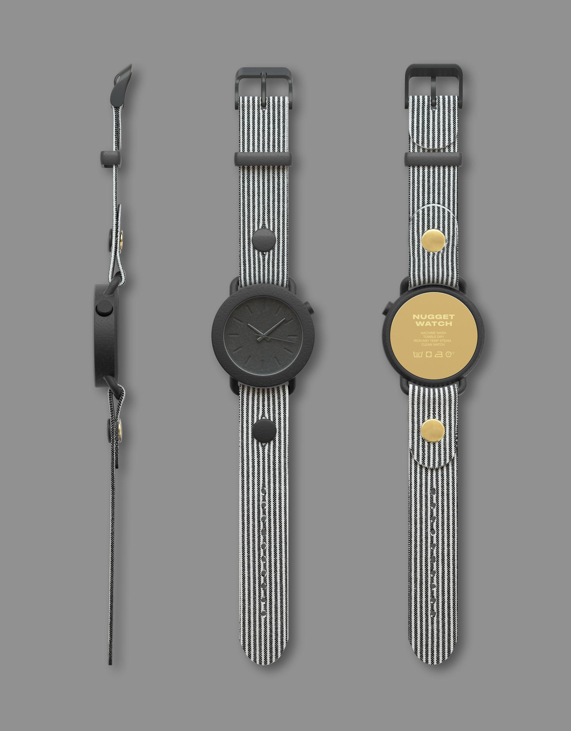 Andreas Bhend Industrial Design Studio NUGGET WATCH 17
